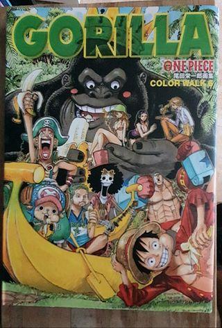 Manga One piece color walk 6 Gorilla Japonés