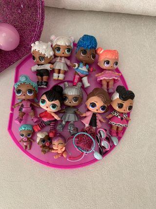 Estuche con muñecas LOL