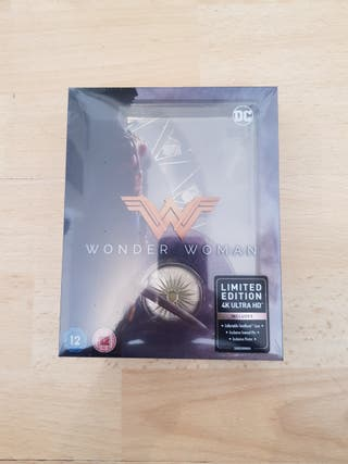 Wonder Woman 4K ULTRA HD (Titans of cault) Blu Ray