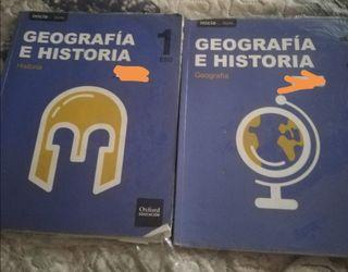 libro de geografía e historia de 1 eso