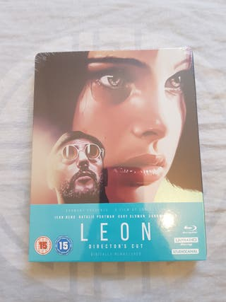 Leon 4k ULTRA HD Blu Ray STEELBOOK NEW and SEALED