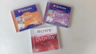 DVDs vírgenes