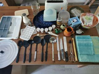 Juego utensilios de cocina