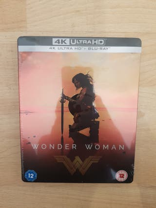 Wonder Woman 4K ULTRA HD Blu Ray STEELBOOK (DC)