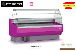 VITRINA PASTELERA CORECO mod. CVED-9-10-C