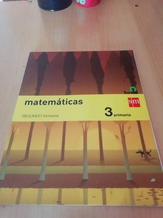 Libro de Matemáticas 3 primaria