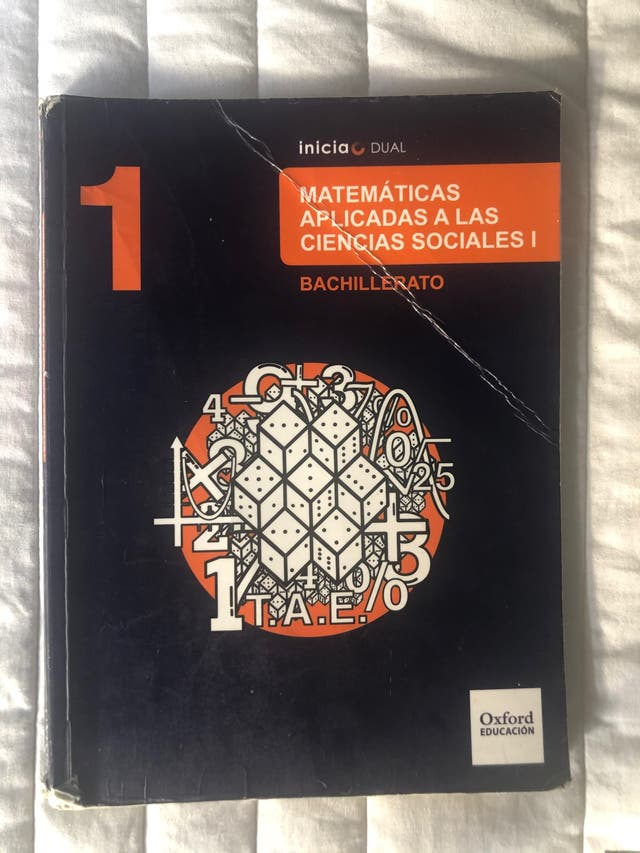 MATEMÁTICAS APLICADAS A LAS CIENCIAS SOCIALES I de segunda