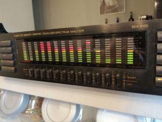Ecualizador digital 12 x 2 bandas stereo