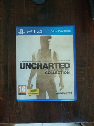 Uncharted. The Nathan Drake collection PS4