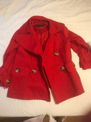 Blazer rojo Zara Basic