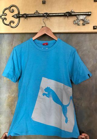 Camiseta azul Puma