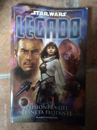Star Wars LEGADO: Prisionera del planeta flotante.