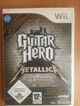 Guitar Hero Metallica Wii