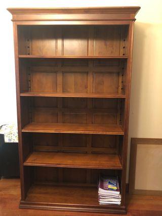 Estantería librería madera cerezo impecable