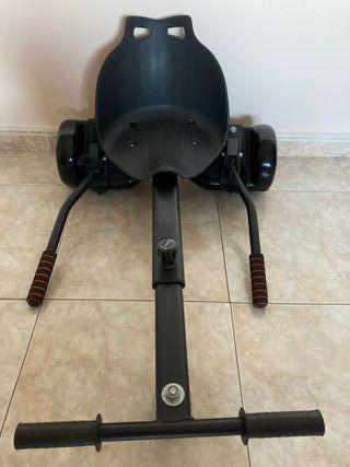 hoverboard / patinete electrico con silla