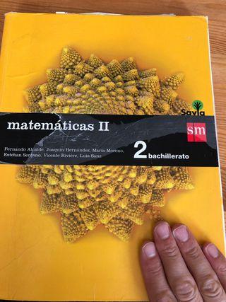 2 Bachillerato Matemáticas II