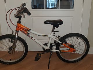 Bicicleta infantil de 4-7 años.