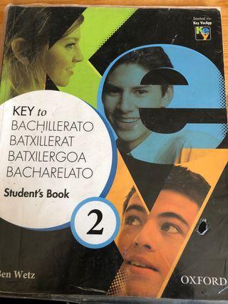 2 Bachillerato Key to. Oxford. Student book