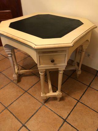 Mesa de juegos madera de castaño