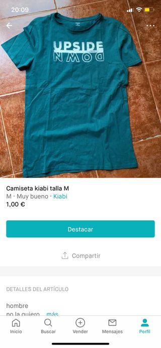Camiseta kiabi hombre