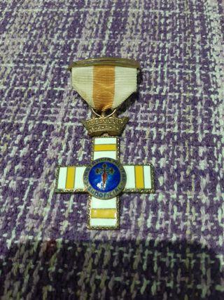 medalla militar de25 años de servicios.