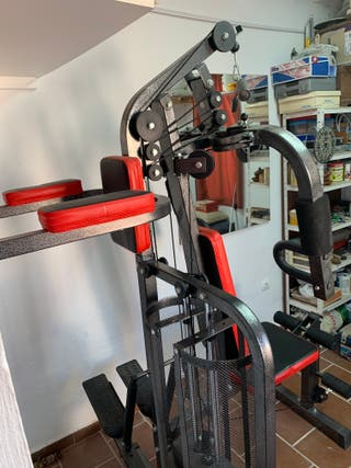 Máquina multifuncional musculación