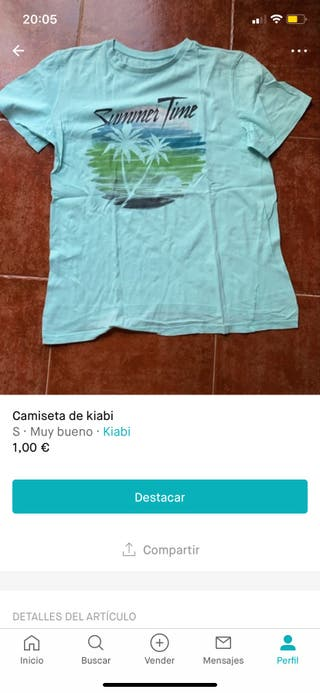 Camisetas de kiabi a 1€