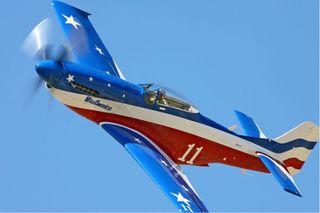 Avión RC eléctrico: Mustang Miss América