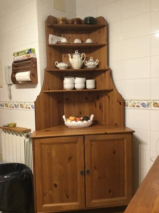 Mueble rinconera de IKEA