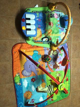 Pack de 2 mantas de actividades bebé