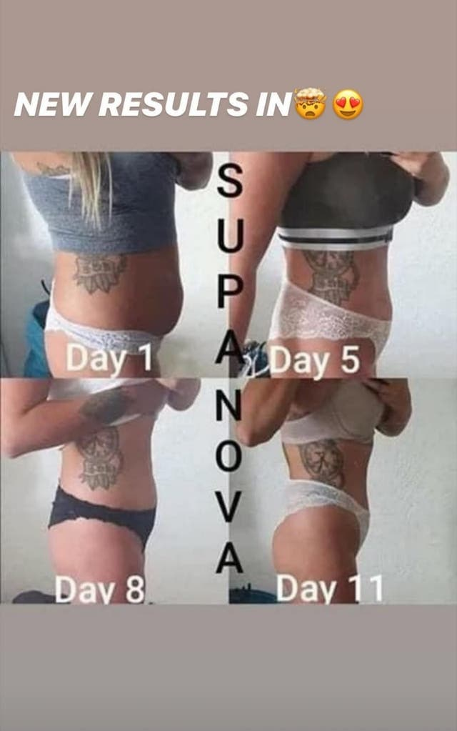 TS Life Supernova Weight loss & Energy Supplement.