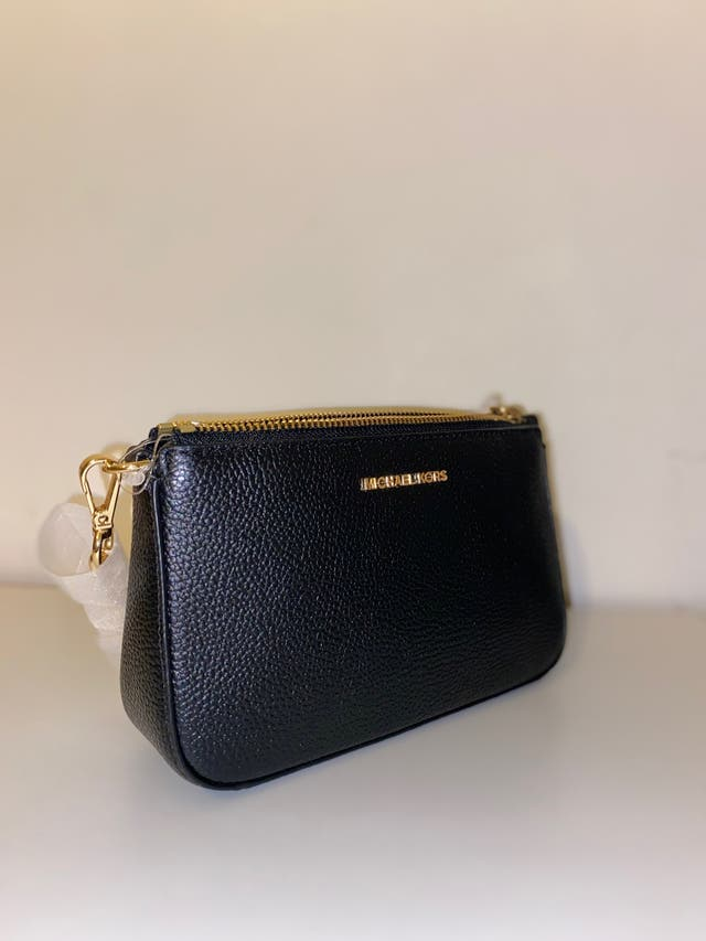 MICHAEL KORS (MK): leather bag with chain