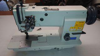 maquina de coser sewmaq triple arrastre.