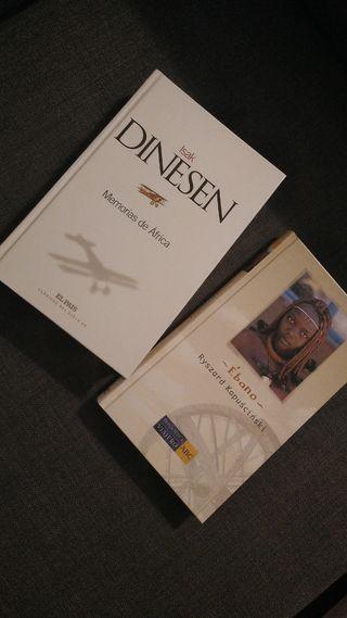 Libro Memorias de Africa + Regalo