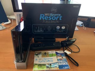 Consola Wii Black Limited Ed. Sports Resort Pack