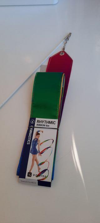 Cinta colores gimnasia rítmica