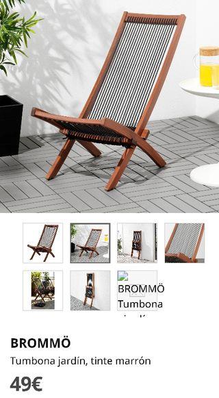 Tumbona Ikea Brommo
