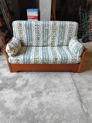 Sofa cama rustico
