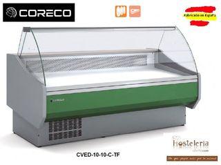 VITRINA EXPOSITORA CORECO mod. CVED-10-10-C-TF