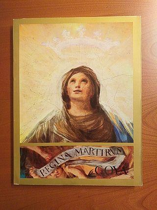 "LIBRO DE ARTE ""REGINA MARTIRUM. GOYA """