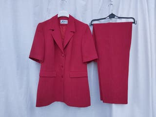 traje señora chaqueta pantalón