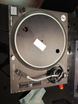 Technics SL 1210Mk2, plato, giradiscos para piezas