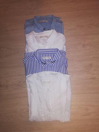 Lote camisas Zara