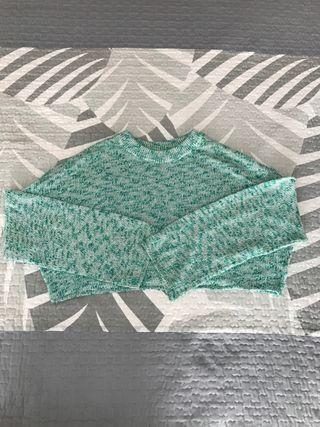 Jersey corto manga larga ancha de H& M.