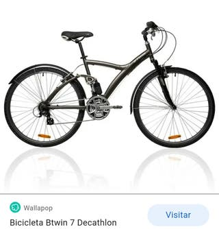 Bicicleta híbrida BTwin 7