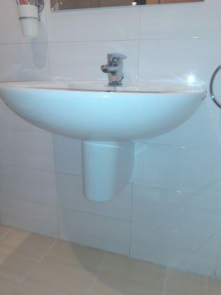 Mueble baño + Lavabo + Espejo