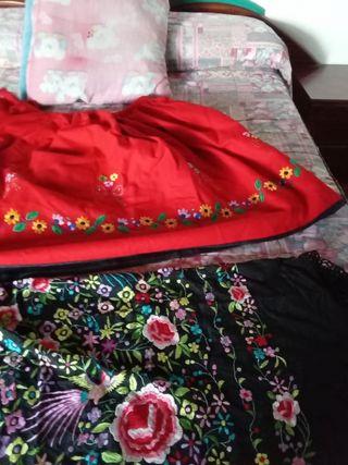 Pañuelo 100 colores Falda regional