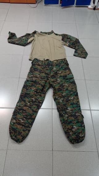 Uniforme Woodland Marpat tactico