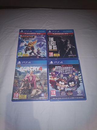 ¡OFERTA! Juegos PS4
