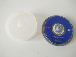 Lote 6 Mini DVD-RW SONY